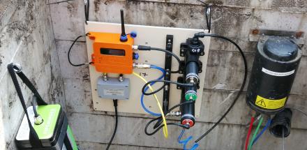 PIPEMINDER-S amd ATI Water quality sensor